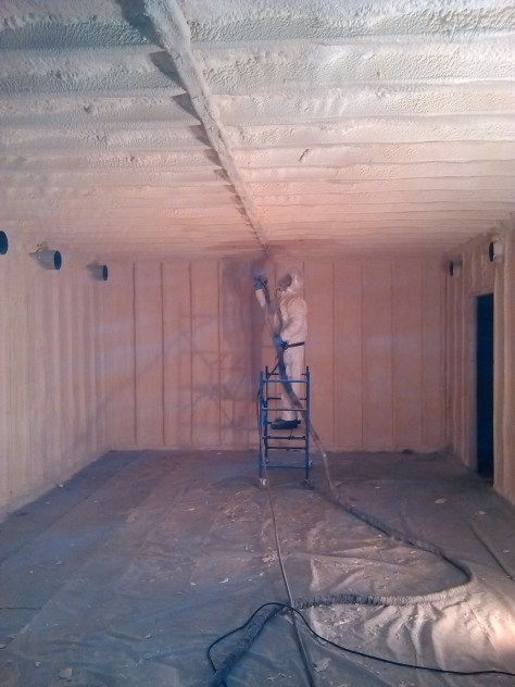 Installing Insulation in Portland Maine