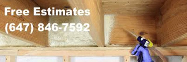 Low cost spray foam insulation in Parkdale Toronto