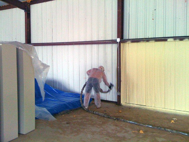 commercial spray foam contractors