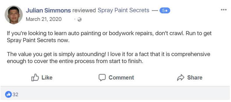 Car Spray Painting Videos   New Updates! $45.73 Per Sale  Image of sps testi51