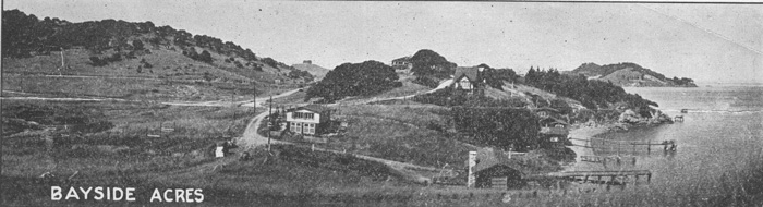 View of Bayside Acres in the 1920s