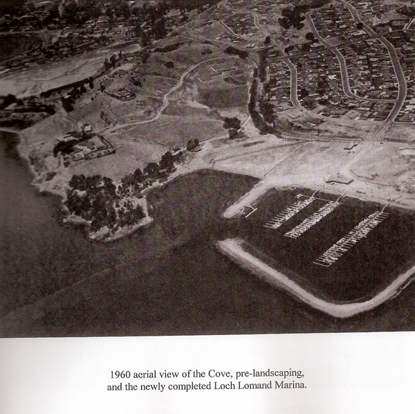 1960 Photo of San Pedro Cove and the New Marina