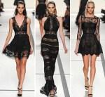 Elie Saab Black Lace
