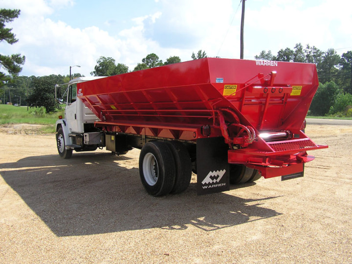 Truck Mounted Lime Fertilizer Spreaders