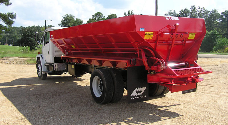 Fertilizer Spreaders Mounted Lime Truck