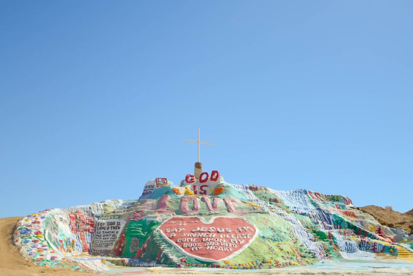 Salvation Mountain   Photo by Chelsea Bock on Unsplash
