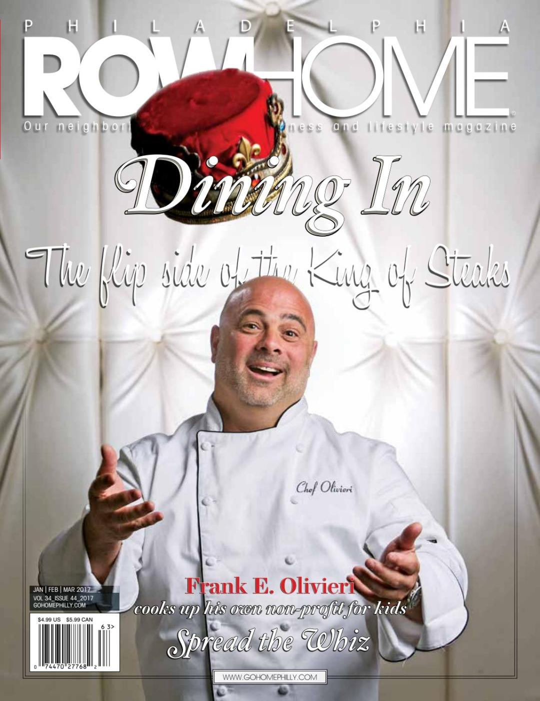 Frankie on cover of RowHome