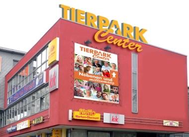 Logo für das Tierpark Center, Shoppingcenter