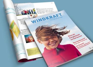 BWE Windkraft – Eine Bürgerenergie, Magazin, Erneuerbare Energie, Design, Editorial, Zeitschrift