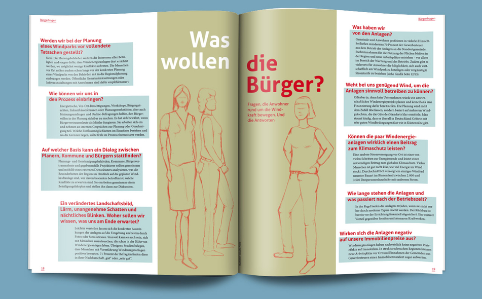 Illustrationen für Magazine, Frauen