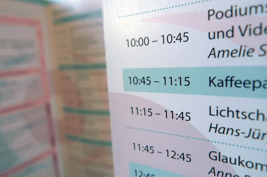 Tagungsprogramm Flyer