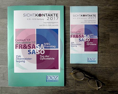 Gestaltung einer Programm Broschüre, Programmheft, Flyer