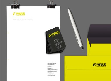 Pharus, Corporate Design, Logo