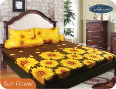 sprei california sun flower