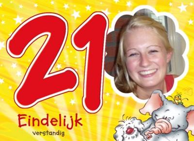 Spreuk 21ste verjaardag