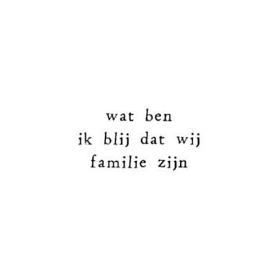 Familie spreuken