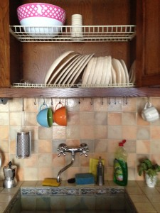 Our Cupboard/Dish Drainer
