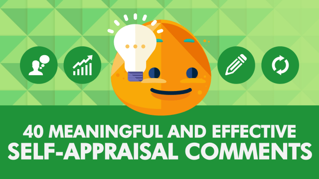 24 Meaningful & Effective Self-Appraisal Comments • SpriggHR