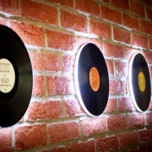 Vinyl Record Wall 03 by Spring and Gears