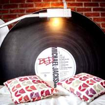 Vinyl Record Bed 05 by Spring and Gears