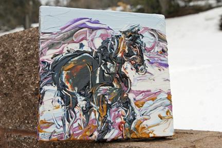 Painting by Karen Keene Day