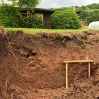 Depth of soil