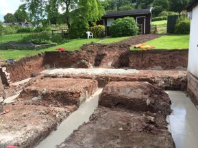 trenches full of concrete 2