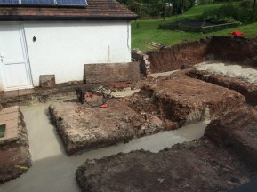 trenches full of concrete 3