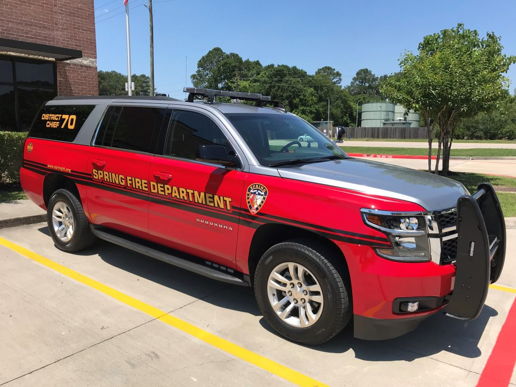 New Command Vehicle In Service