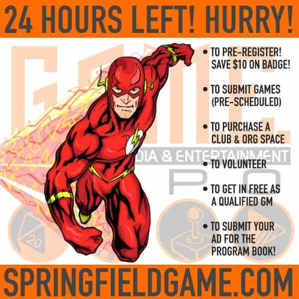 ONLY 24 HOURS LEFT!  BETTER HURRY!!!