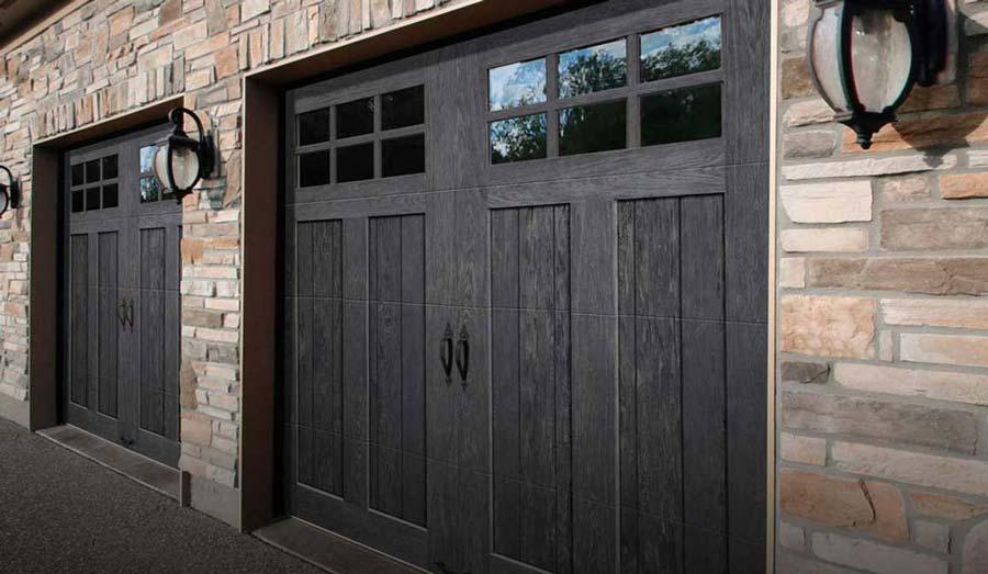 NEW Slate Finish for Garage Doors - Brookline Doorworks on Garage Door Color  id=96506