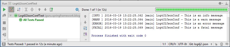 LOG4J 2 Configuration: Using JSON - DZone Performance