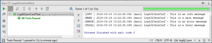 Log4J 2 Additivity Output