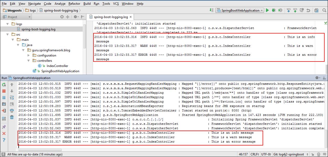 Using Log4j 2 With Spring Boot Spring Framework Guru