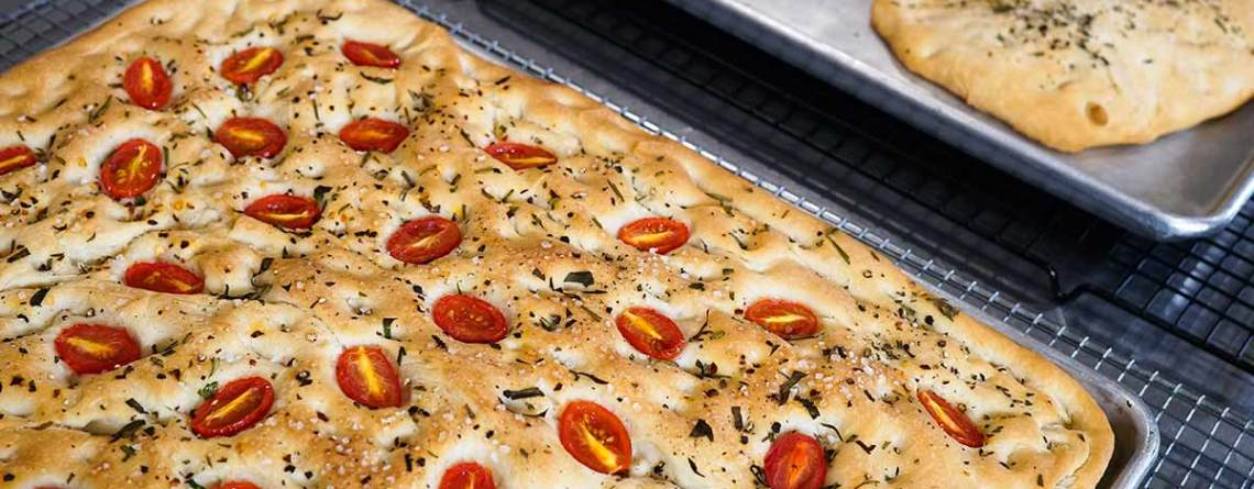 focaccia online baking course bread lady tv shb
