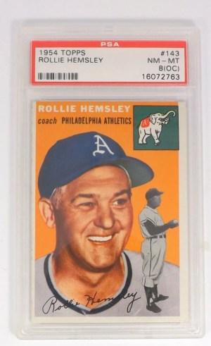 1954 Topps Rollie Hemsley #143