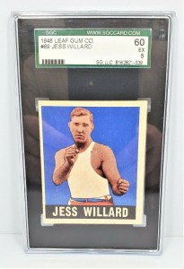 1948 Leaf Gum Co Jess Willard #69