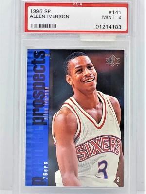 1996 SP #141 Allen Iverson Premier Prospects Rookie