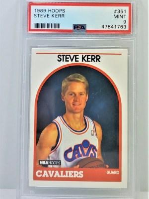 1989 Hoops #351 Steve Kerr Rookie