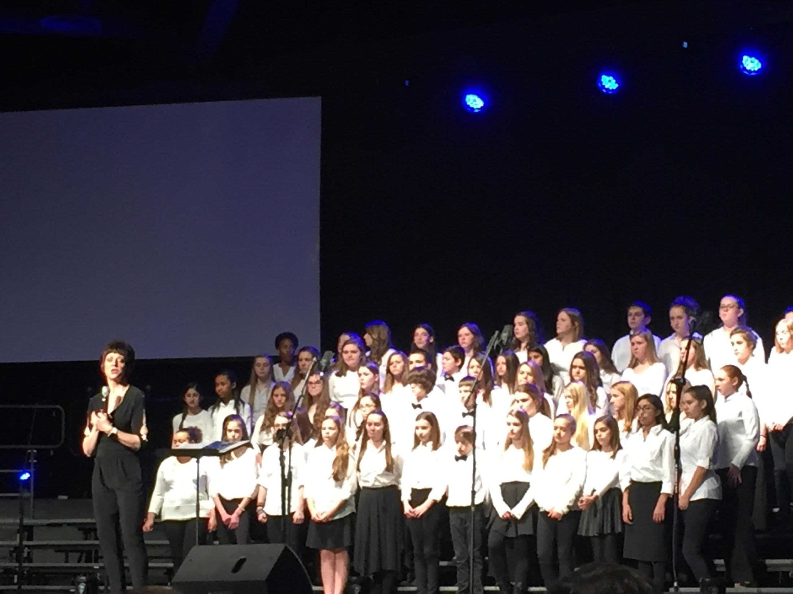 Heritage Middle School 7th Grade Chorus Take Home Awards