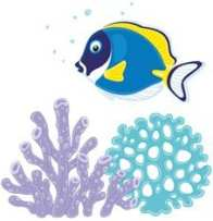 BluefishwithCoral