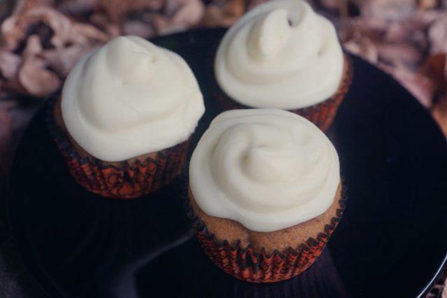 cupcakes citrouille