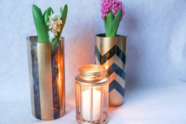 diy wine bottle vases (4 of 4)