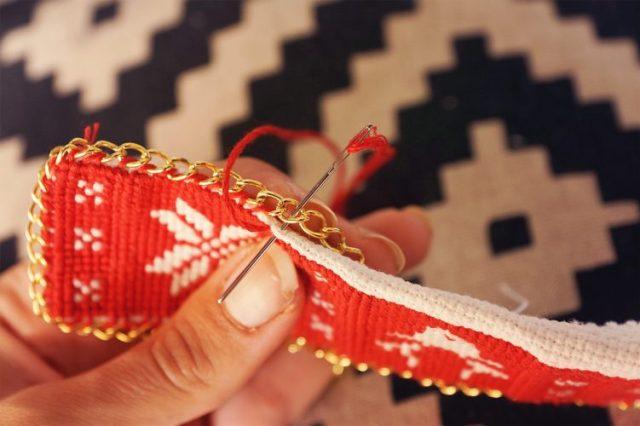 6. couture chaine