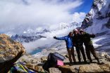 Summit Renjo La pass (5360 m)
