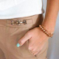 DIY bracelet rose gold Inspiration Tiffany