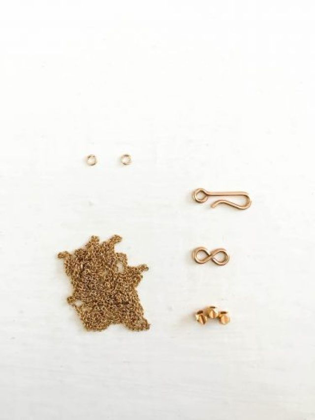 DIY simple gold necklaces (3 of 42)