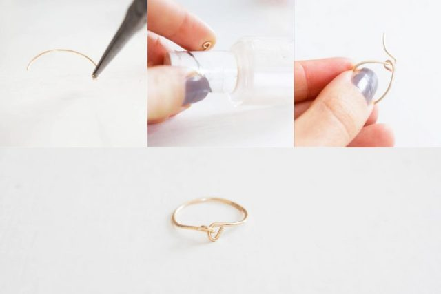 DIY dainty rings - 1