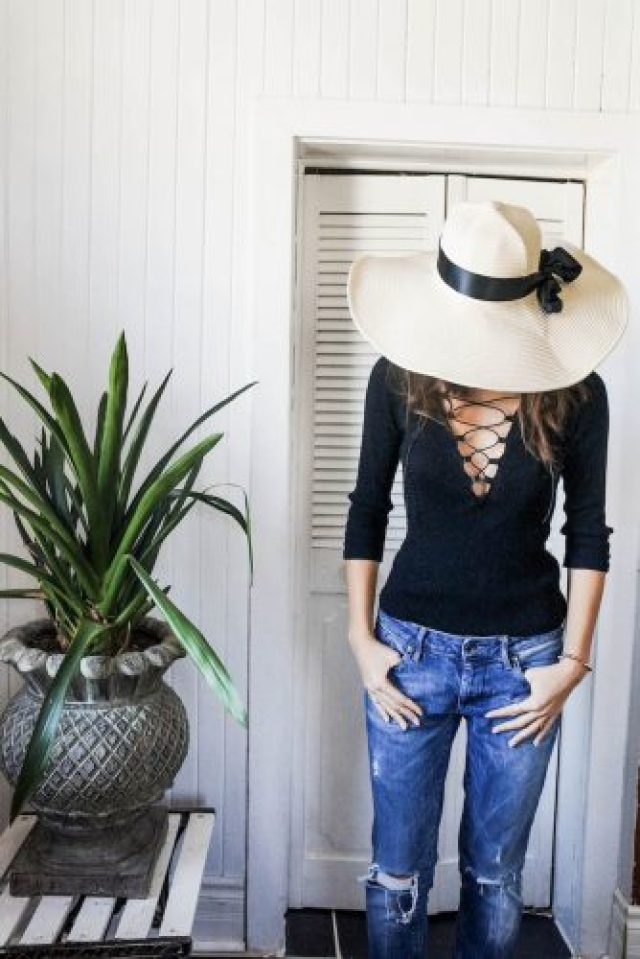 DIY lacey top and jeans 2 (1 of 1)