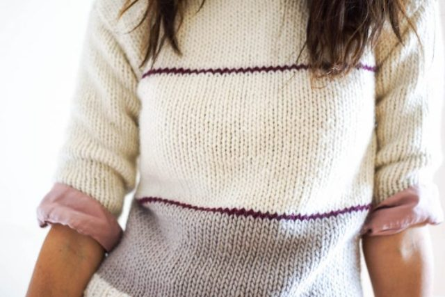 We Are Knitters Kinesis Sweater x Spring in Fialta